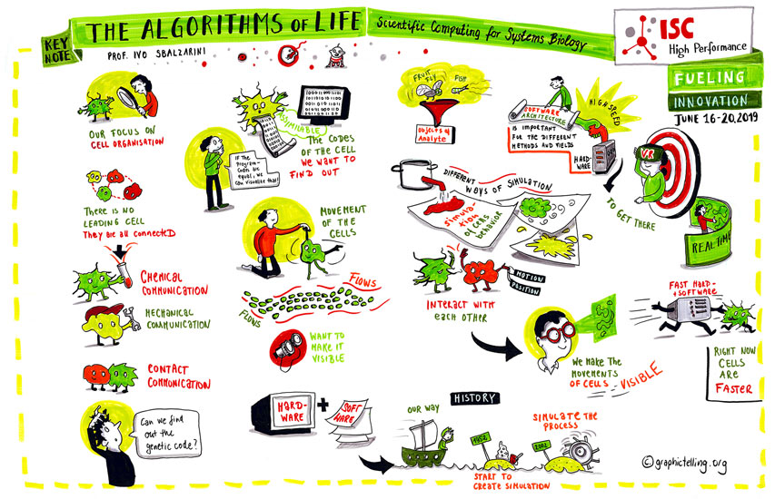 Graphic Telling Marie Hübner Graphic Recording